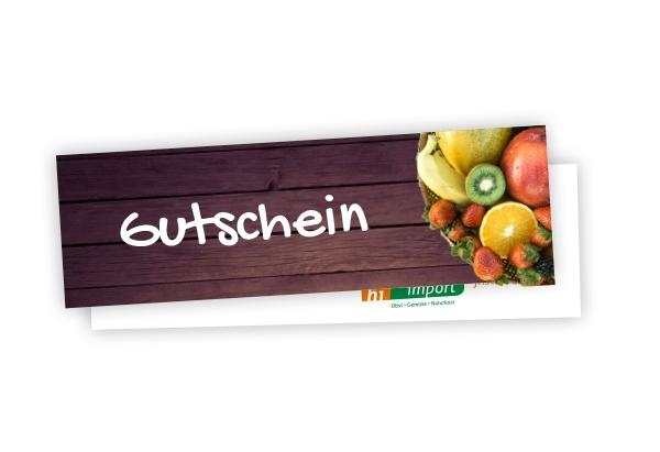Gutschein - Obst-/Gemüsekorb